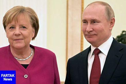 پوتین و مرکل درباره کنفرانس بینالمللی برلین گفت وگو کردند