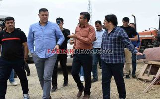 اختصاصی/حضور علی دایی در مناطق زلزله زده در 22اردیبهشت 97