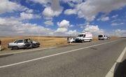 ۹ نفر در تصادف جاده بیجار - دیواندره مصدوم شدند