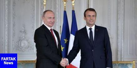 رویترز: ماکرون میانجی بهبود روابط روسیه و اوکراین میشود