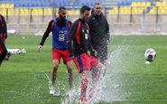 تمرینات پرسپولیس تحتالشعاع بارش باران