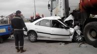 چهار عضو یک خانواده در سانحه رانندگی جان باختند