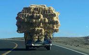 بار کامیون بر روی نیسان! + فیلم