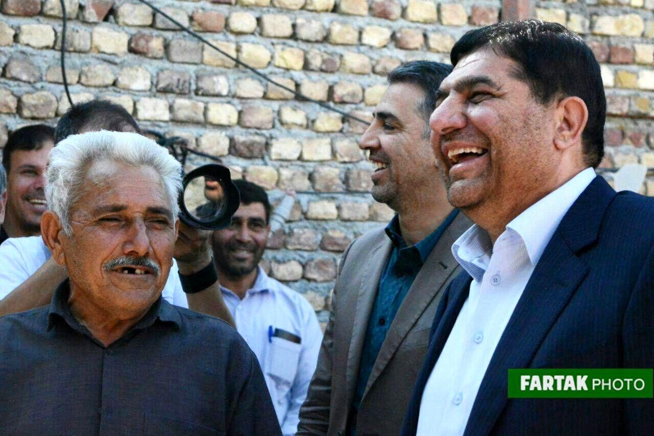 دومین روز از سفر دکتر محمد مخبر رئیس ستاد اجرایی فرمان حضرت امام(ره) به سرپلذهاب