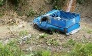 سقوط نیسان به دره در دزفول یک کشته و پنج مصدوم برجا گذاشت