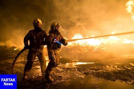 مصدومیت هفت نفر در حادثه آتش سوزی شیراز