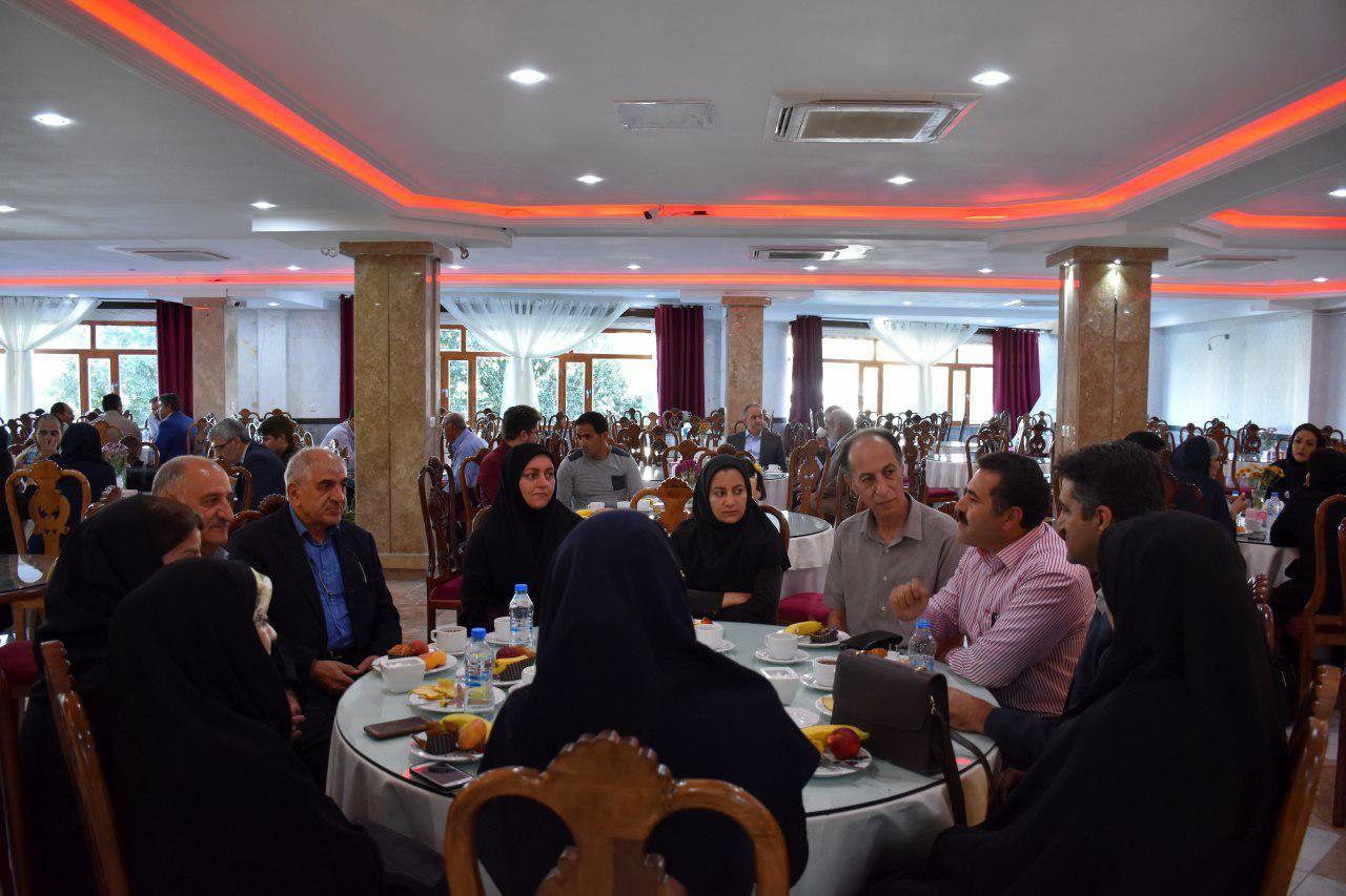 افتتاحیه فاز دوم هتل رسالت با حضور مهندس بازوند استاندار کرمانشاه