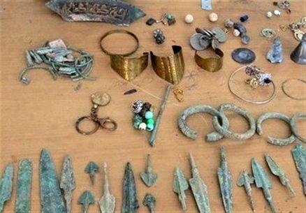 کشف عتیقههای یکهزار ساله در گنبدکاووس