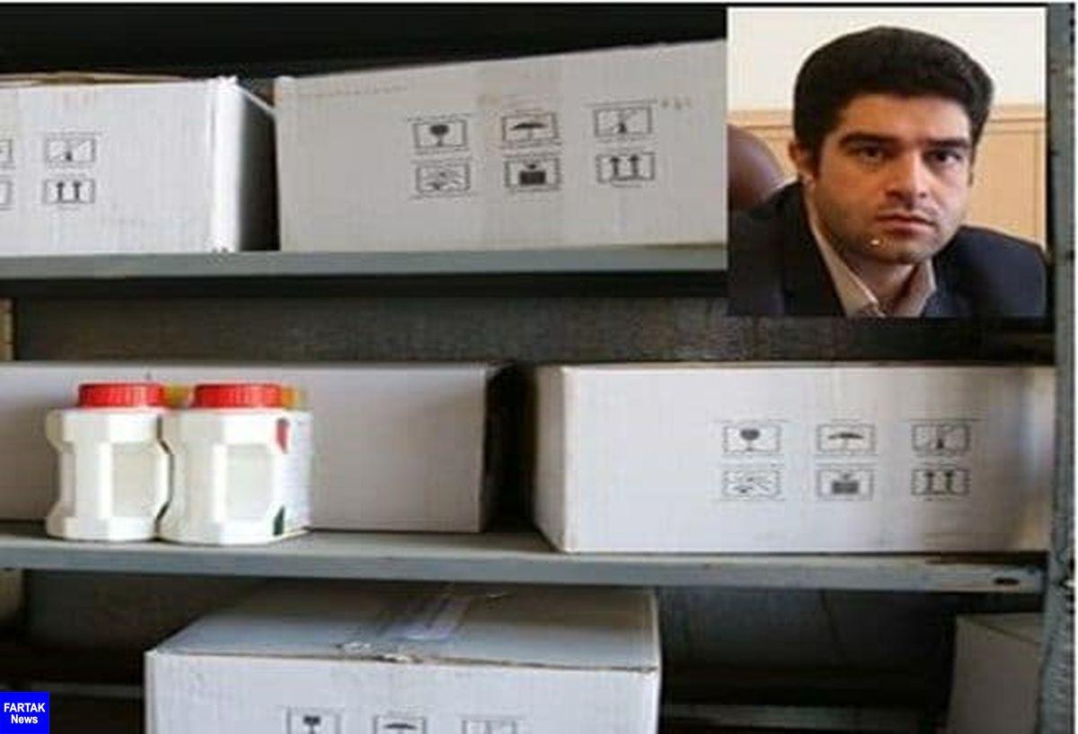 کشف داروی انروفلوکساسین توزیع شده خارج از شبکه مجاز در استان کرمانشاه