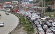 ترافیک محور رشت - قزوین نیمه سنگین و روان است
