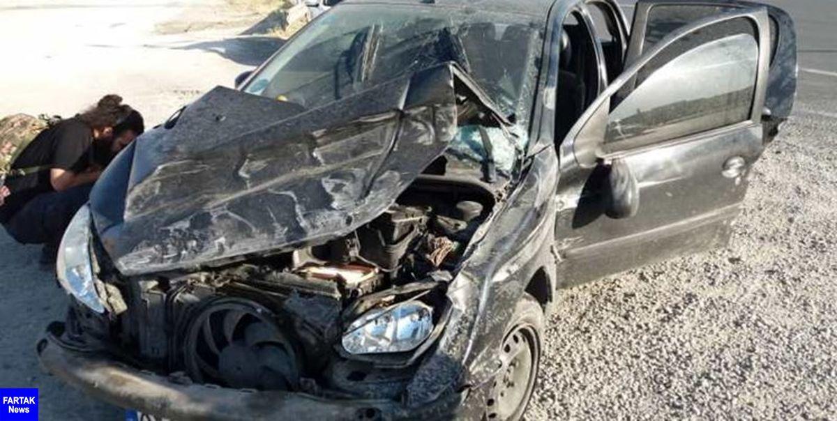 تصادف زنجیرهای در اتوبان قزوین-تهران ۷ مصدوم داشت