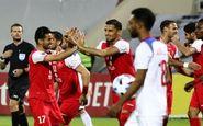 آمار بازی پرسپولیس و الشارجه امارات