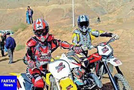 مجوز پوشش بانوان موتورکراس صادر شد