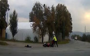 از جان گذشتن مامور پلیس برای دستگیری یک قاچاقچی + فیلم