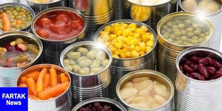 هشدار در مورد غذاهای کنسرو شده