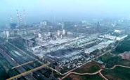 خسارت شدید فاجعه کارخانه گاز در چین