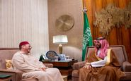 دیدار ولیعهد عربستان با مشاور پادشاه مراکش