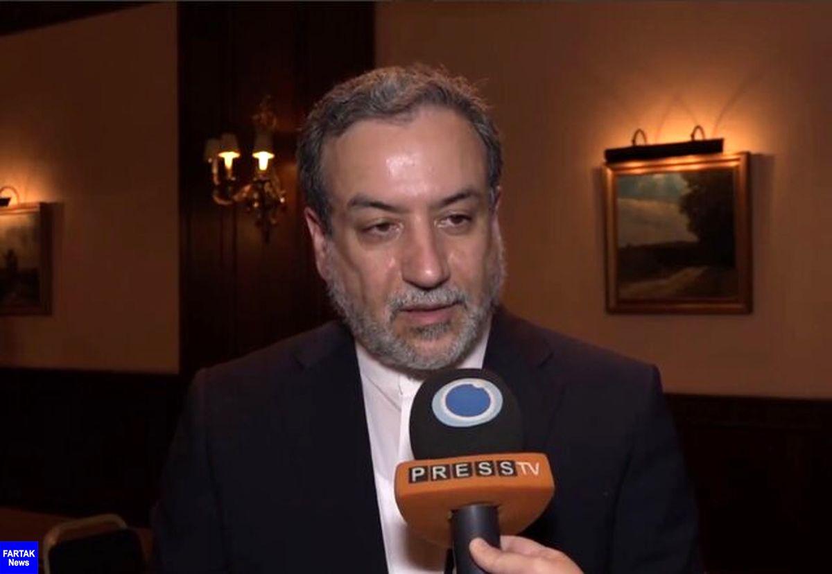 عراقچی:  هنوز بر سر برخی موضوعات کلیدی باید به توافق دست یافت