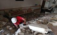 انفجار خانه مسکونی در گنبدکاووس/ ۳ نفر از زیر آوار رهاسازی شدند