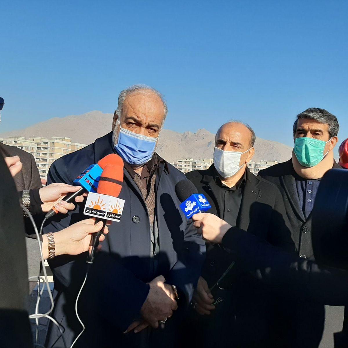 پروژه تقاطع غیر هم سطح شهید سلیمانی یکی از  شاخصه های کلان شهر کرمانشاه است