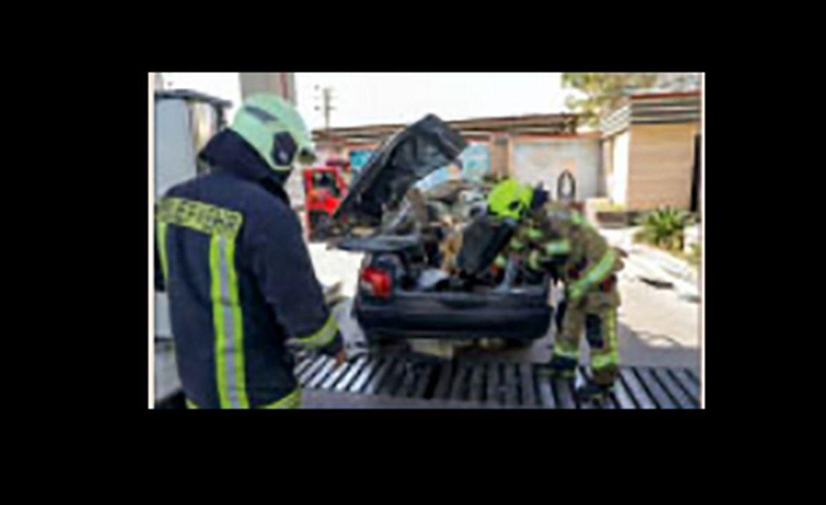 انفجار مهیب در پمپ بنزین+جزئیات