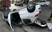 واژگونی خودروی 207 در سوهانک