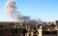 دیرالزور سوریه مورد حمله ائتلاف آمریکایی
