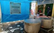 طبخ و توزیع روزانه ۲۰۰ پرس غذا در قالب طرح شهیدسلیمانی توسط مرکز افق بقعه سیده(س) کرمانشاه