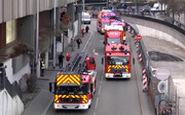 تظاهرات به سبک هزار آتشنشان فرانسوی