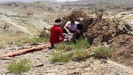 جستجوی ۴ساعته برای یافتن جوان گمشده در ارتفاعات «درح»