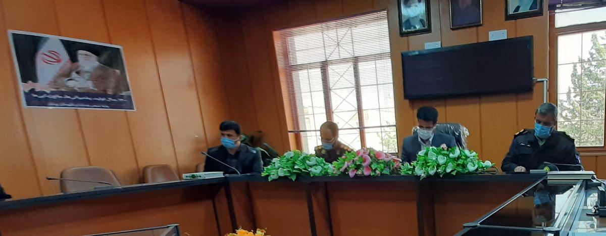 نشست  اعضای شورای تامین با هیئتهای اجرایی و نظارت بر انتخابات شوراهای اسلامی چرداول