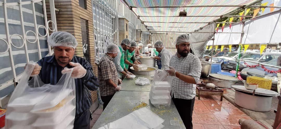 برگزاری مراسم عیدغدیر در محوطه شهرداری کرمانشاه به روایت تصویر