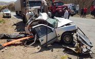 ۲ کشته در برخورد تریلر - با پژو در محور میانه - تبریز