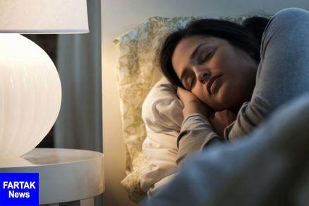 برای جلوگیری از چاقی در فضای کاملا تاریک بخوابید