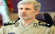 امیر حاتمی: تولید مواد ضدعفونی کننده وزارت دفاع به ۱۵۰ هزار لیتر در روز رسید
