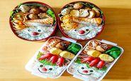 ابتکار زن ژاپنی در تزیین غذا+عکس