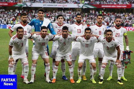 رنکینگ جدید فیفا/ ایران همچنان اول آسیا