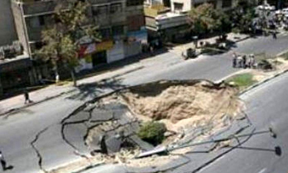 خیابان دهان باز کرد / وحشت صبحگاهی تهرانی ها