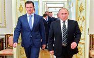پوتین در پایگاه حیمیم سوریه با اسد دیدار کرد