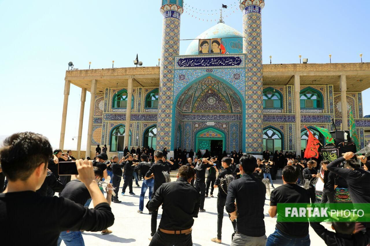 اختصاصی/ گزارش تصویری از مراسم تاسوعای حسینی در شهر علویجه اصفهان