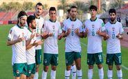 کریخوانی عراقیها برای تیم ملی ایران (عکس)