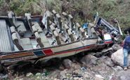 واژگونی اتوبوس در هند با ۲۸ کشته و زخمی/ حال ۶ نفر وخیم است