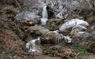 مناظری زیبا از آبشار فصلی در « آبپزان» + فیلم