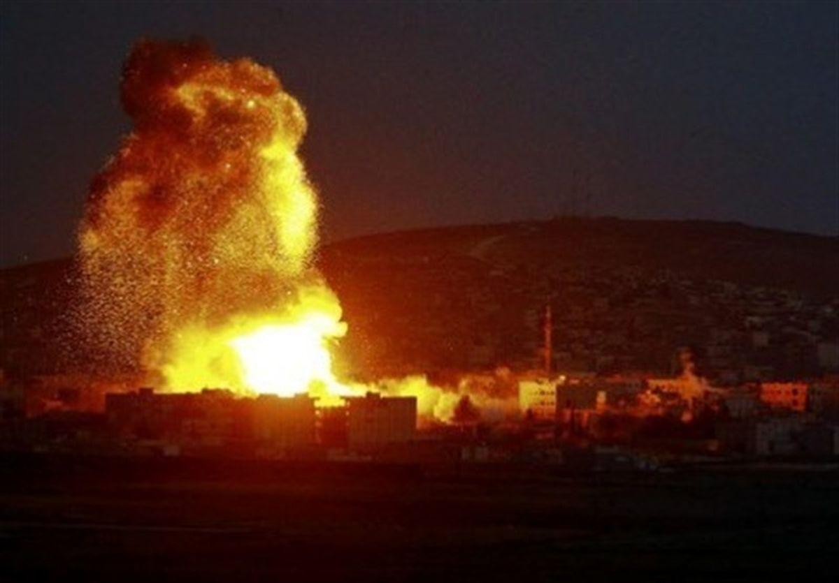 اسراییل به سوریه حمله کرد