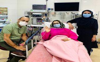 خاله شادونه کرونا گرفت + عکس وخیم در بیمارستان
