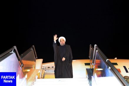 رییس جمهوری خوزستان را به قصد تهران ترک کرد