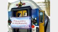 نخستین قطار مسافری کرمانشاه وارد مشهد شد