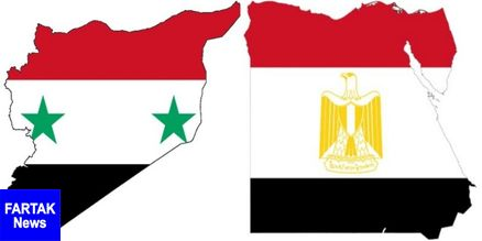 مصر از دولت قانونی وارتش سوریه حمایت کرد