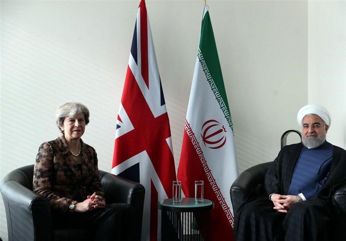 در دیدار نخستوزیر انگلیس /  روحانی: ایران آماده روابط با انگلستان در همه عرصههاست