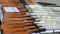 انهدام باند قاچاق سلاح در کرمانشاه/کشف 17 قبضه اسلحه شکاری